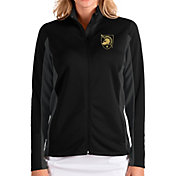 Antigua Women's Army West Point Black Knights Army Black Passage Full-Zip Jacket