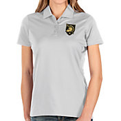 Antigua Women's Army West Point Black Knights Balance White Polo