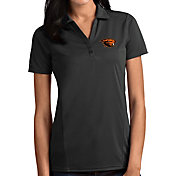 Antigua Women's Oregon State Beavers Grey Tribute Performance Polo