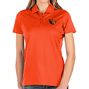 Antigua Women's Oregon State Beavers Orange Balance Polo