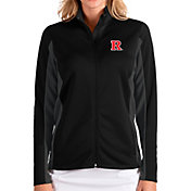 Antigua Women's Rutgers Scarlet Knights Passage Full-Zip Black Jacket