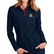 Antigua Women's Arizona Wildcats Navy Glacier Full-Zip Jacket