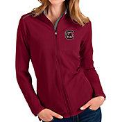 Antigua Women's South Carolina Gamecocks Garnet Glacier Full-Zip Jacket