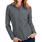 Antigua Women's South Florida Bulls Grey Glacier Full-Zip Jacket