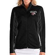 Antigua Women's Southern Illinois  Salukis Passage Full-Zip Black Jacket