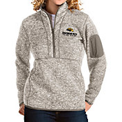 Antigua Women's Southern Miss Golden Eagles Oatmeal Fortune Pullover Jacket