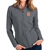 Antigua Women's Syracuse Orange Grey Glacier Full-Zip Jacket