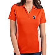 Antigua Women's Syracuse Orange Orange Venture Polo