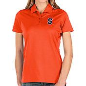 Antigua Women's Syracuse Orange Orange Balance Polo