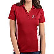 Antigua Women's Utah Utes Crimson Venture Polo