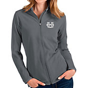 Antigua Women's Utah State Aggies Grey Glacier Full-Zip Jacket