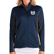 Antigua Women's Utah State Aggies Blue Passage Full-Zip Jacket