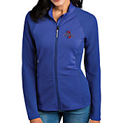 Antigua Women's Tulsa Golden Hurricane Blue Sonar Full-Zip Performance Jacket