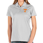 Antigua Women's Tennessee Volunteers Balance White Polo