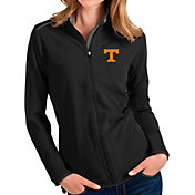Antigua Women's Tennessee Volunteers Glacier Full-Zip Black Jacket
