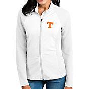 Antigua Women's Tennessee Volunteers White Sonar Full-Zip Performance Jacket