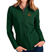 Antigua Women's Vermont Catamounts Green Glacier Full-Zip Jacket