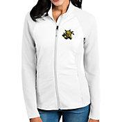 Antigua Women's Wichita State Shockers White Sonar Full-Zip Performance Jacket