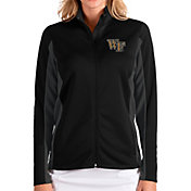 Antigua Women's Wake Forest Demon Deacons Passage Full-Zip Black Jacket
