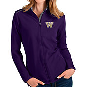 Antigua Women's Washington Huskies Purple Glacier Full-Zip Jacket