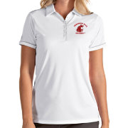 Antigua Women's Washington State Cougars Salute Performance White Polo