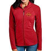 Antigua Women's Iowa State Cyclones Cardinal Sonar Full-Zip Performance Jacket