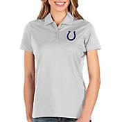 Antigua Women's Indianapolis Colts Balance White Polo