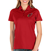 Antigua Women's Arizona Cardinals Balance Red Polo