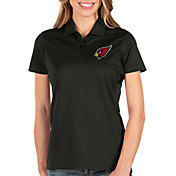 Antigua Women's Arizona Cardinals Balance Black Polo