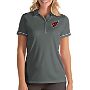 Antigua Women's Arizona Cardinals Salute Grey Polo