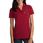 Antigua Women's Arizona Cardinals Tribute Red Polo