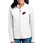 Antigua Women's Arizona Cardinals Sonar White Full-Zip Jacket