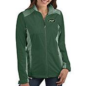 Antigua Women's New York Jets Revolve Green Full-Zip Jacket