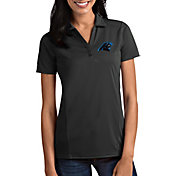 Antigua Women's Carolina Panthers Tribute Grey Polo