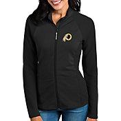 Antigua Women's Washington Redskins Sonar Black Full-Zip Jacket