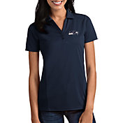 Antigua Women's Seattle Seahawks Tribute Navy Polo
