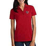 Antigua Women's Houston Texans Tribute Red Polo