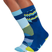 Alpine Design Boys' Snow Sport Over-the-Calf Socks - 2 Pack