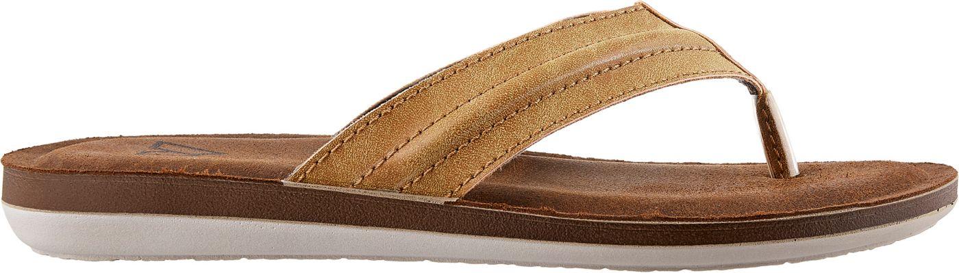 Alpine Design Men's Leather Flip Flops