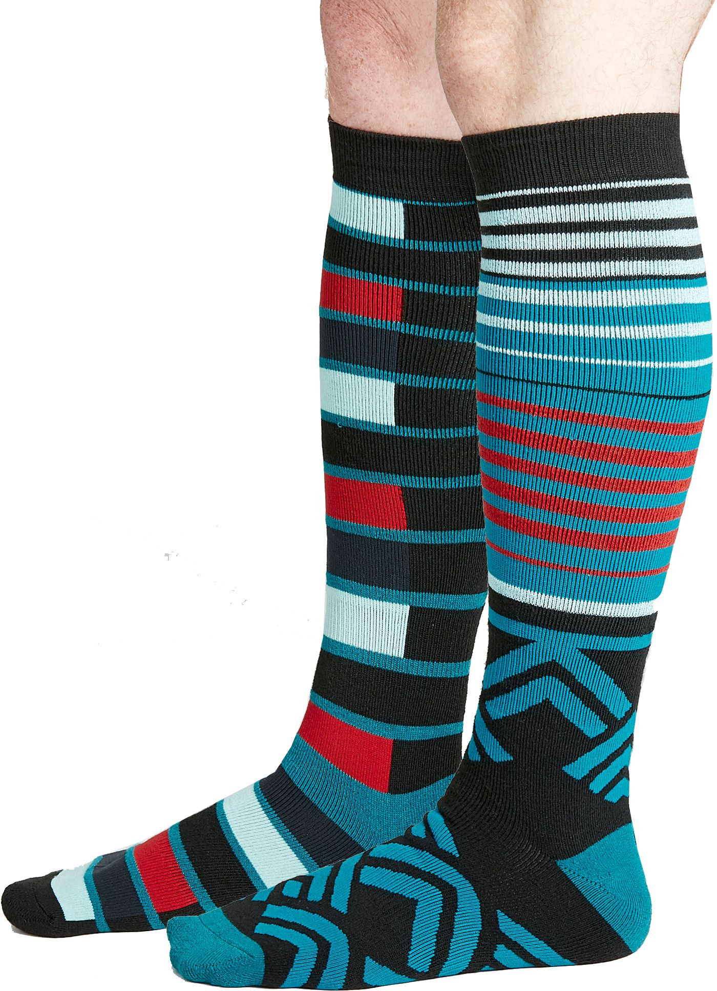 Alpine Design Men's Snow Sport Over-the-Calf Socks 2 Pack