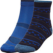 Alpine Design Men's Explorer Quarter Socks – 2 Pack