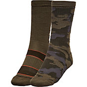 Alpine Design Men's Explorer Crew Socks – 2 Pack