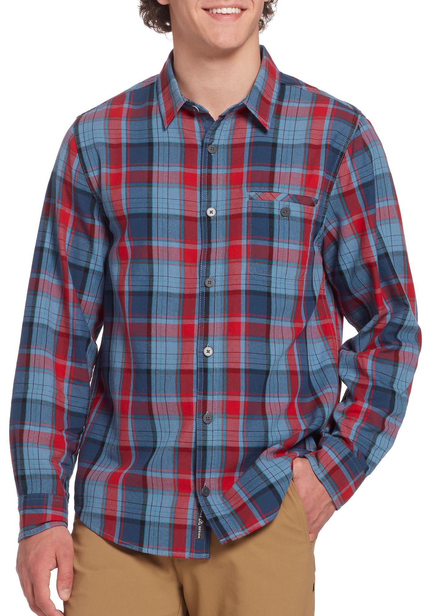 Alpine Design Men's 1962 Vintage Ballard Flannel Shirt