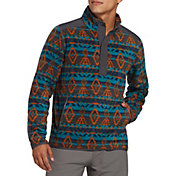 Alpine Design Men's Cedar Mountain Fleece Printed Pullover