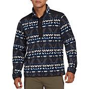 Alpine Design Men's Cedar Mountain Fleece Printed Pullover