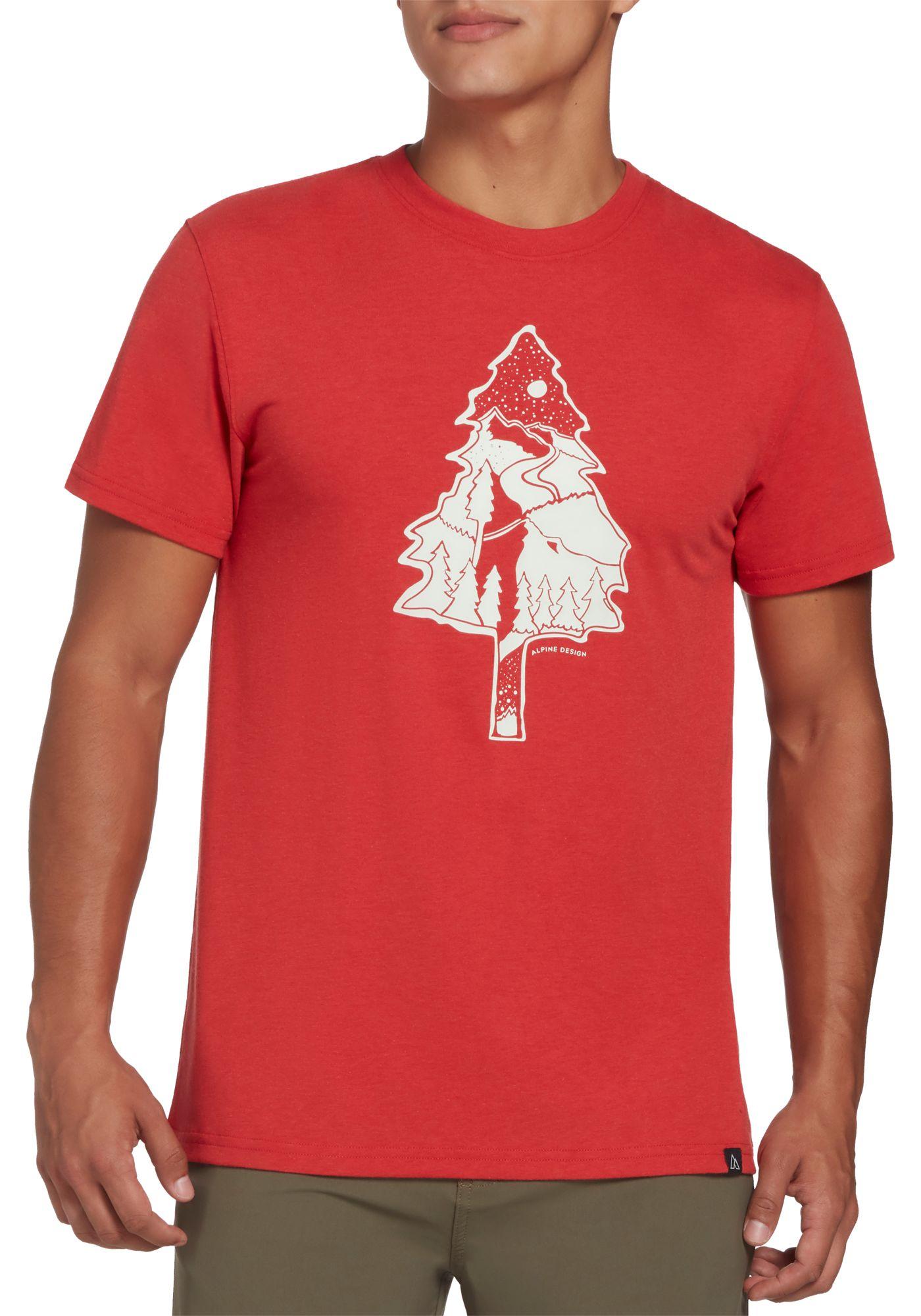 Alpine Design Men's First Mile Made Short Sleeve Tree T-Shirt