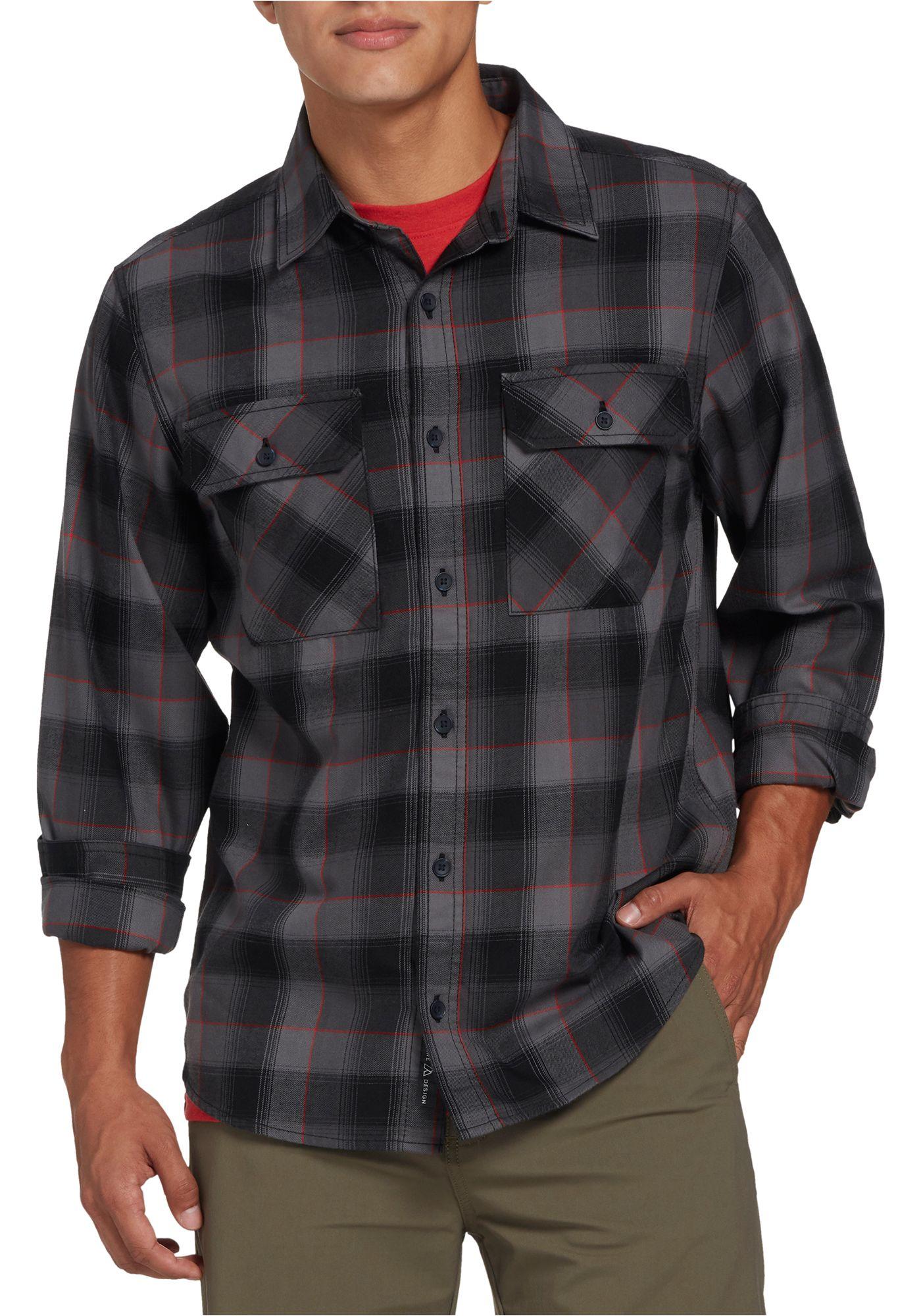 Alpine Design Men's Hickory Flannel Shirt