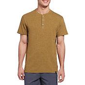 Alpine Design Men's Short Sleeve Henley T-Shirt