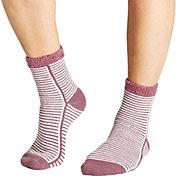 Field & Stream Women's Feed Stripe Cozy Cabin Crew Socks