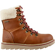 Alpine Design Women's Ember Ridge Leather 200g Waterproof Winter Boots
